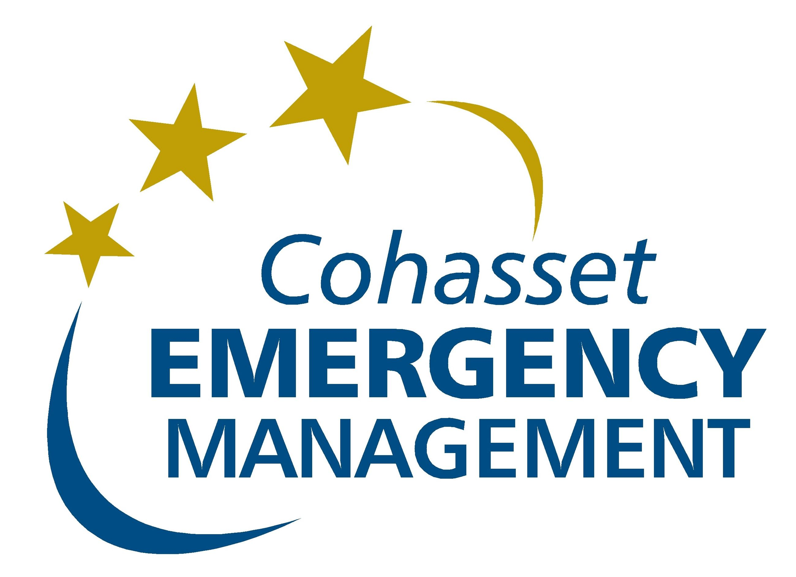 Cohasset Emergency Management Logo