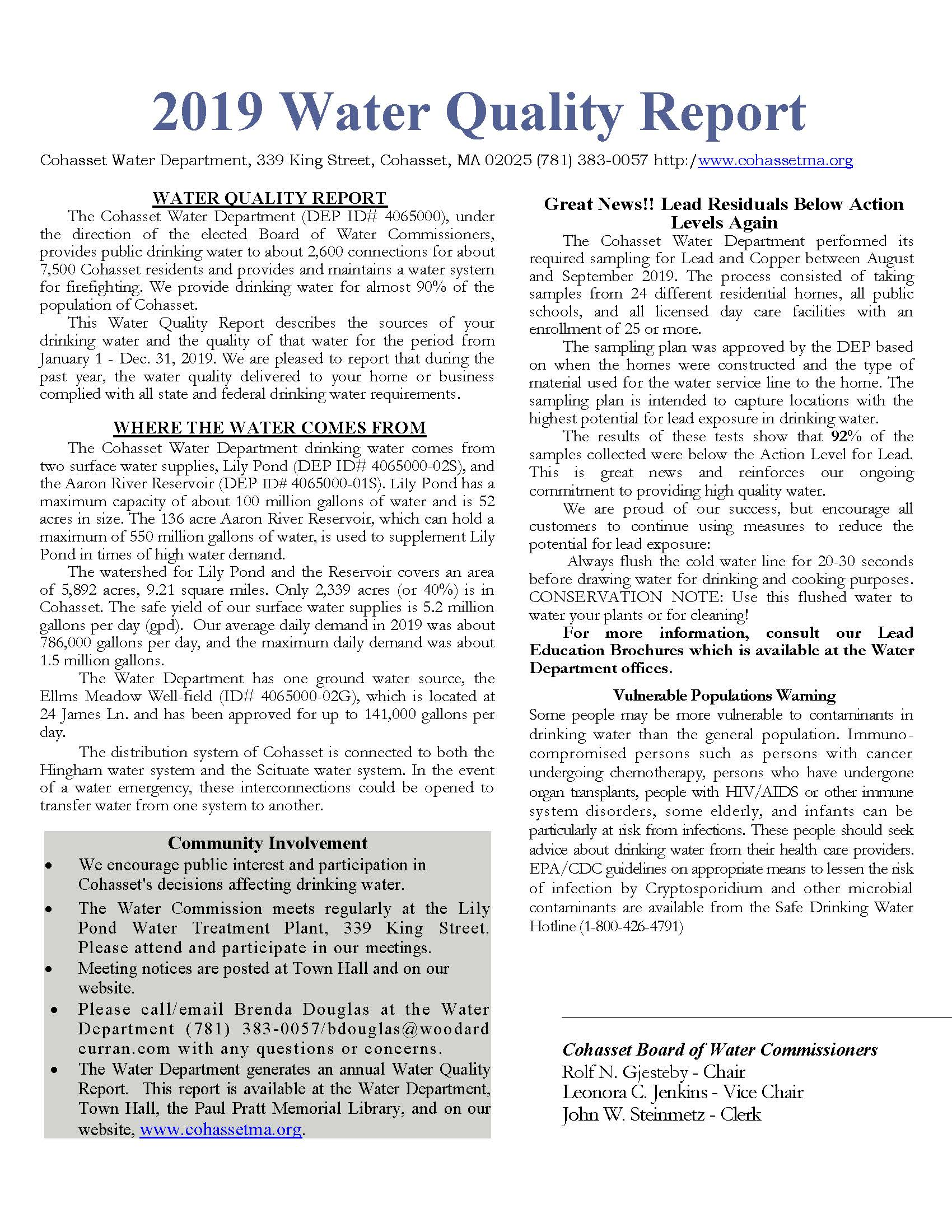 Water Quiality Report 2019 (PDF)_Page_1