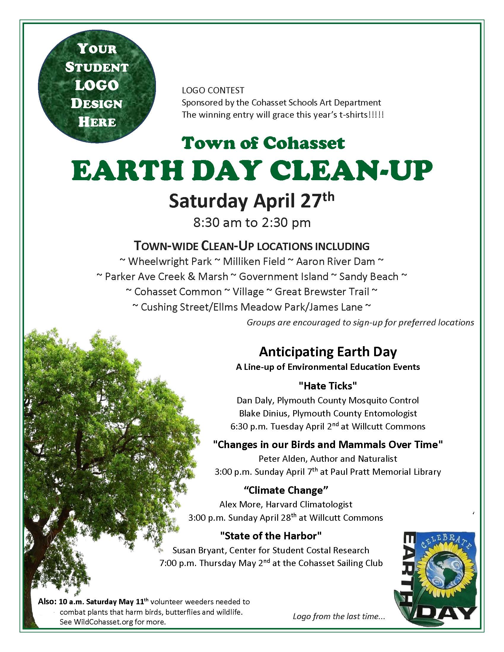 Final 3-14 Earth Day Flyer