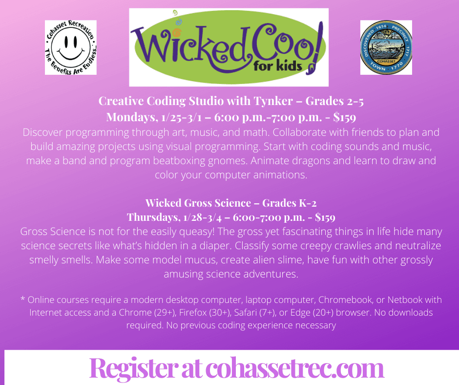 Wicked Cool for Kids Facebook Post